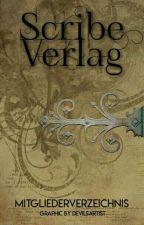 Mitgliederverzeichnis by ScribeVerlag