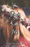 You Don't Know Me cover