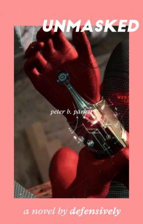 unmasked / peter parker by defensively
