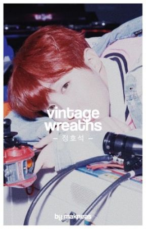 vintage wreaths ⇒ jung hoseok by makneas