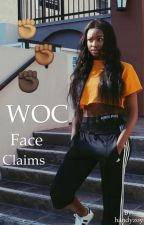 woc faceclaims by handyzoy