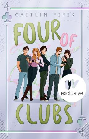 Four of Clubs by CAITLlN