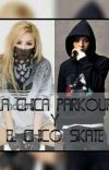 The parkour girl and the skate boy.(SKYDRAGON). cover