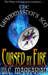 Cursed by Fire: The Grandmaster's Son Book 2 cover