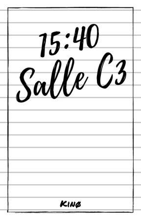 15:40 ~ Salle C3 by Tris-Amy