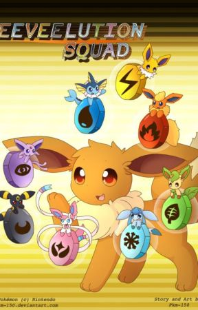 Escuadrón Eeveelutions by Storm_ImT-therealin