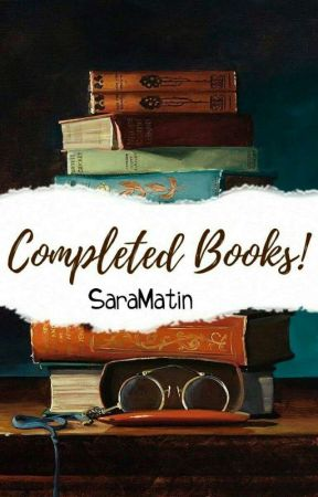 Completed books !  by saramatin