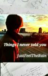 Things I never told you (Shqip) cover
