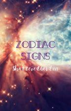 Zodiac Signs by -e-uphoria