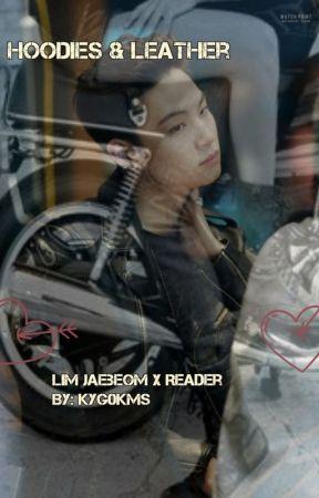Hoodies & Leather ; Im Jaebum by kyg0kms