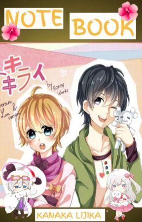 Note Book by Kanaka_Lijika