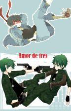 Amor de tres  (Splendid x Flippy / Splendid x Fliqpy) by OrochimariOrochimiss