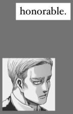 Honorable // Erwin Smith by strawberry-babie