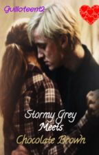 Stormy Grey Meets Chocolate Brown (A Dramione Fanfic) by guilloteen12