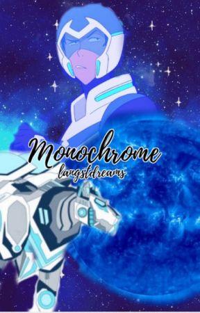 Monochrome // Klance by peachiepastels