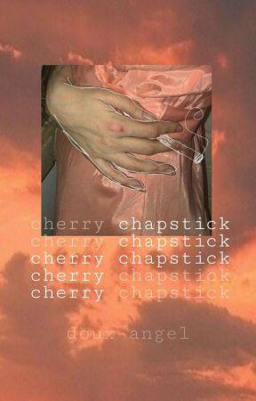 cherry chapstick ☾ tozier by -biji-