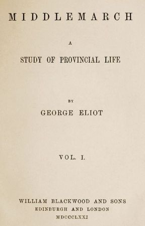 MIDDLEMARCH (Completed) by GeorgeEliot