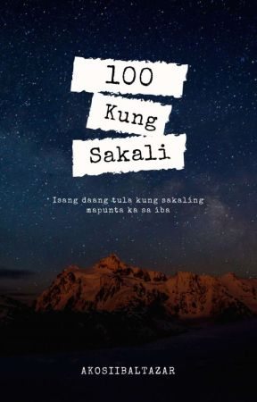 100 KUNG SAKALI by Baltsentiments