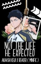 Not The Life He Expected || Akaashi Keiji X Reader {MINIFIC} by AteCaku
