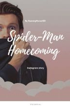 Spiderman-homecoming (Michelle Jones And Peter Parker) Instagram Fanfic by keamo_3