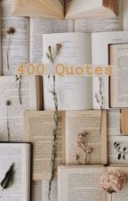 400 Qoutes V.2 by LeeanMarabe