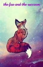 the fox and the raccoon . the guardians of the galaxy  rocket x oc by midnightbloom123