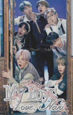 [DISCONTINUED] My Boys: Love, Nari   BTS' EIGHT MEMBER  [Season 1] by ChooseSeokjin