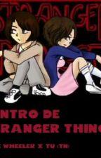 dentro de stranger thing.  mike wheeler y tu by Alemax2003