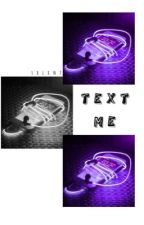 Text Me| SasuNaru by sxlxntx
