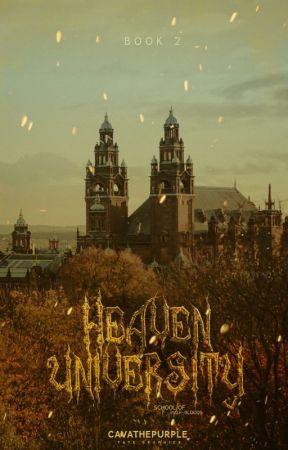 Heaven University (Book 2 of Half Blood Academy) by Cavathepurple