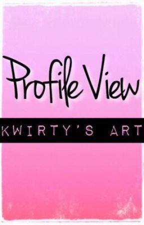 Profile View {Kwirty's Art} by KwirtyGames