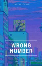 wrong number; finn wolfhard by valgreene