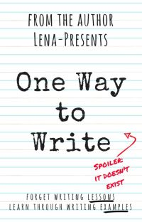 One Way to Write cover