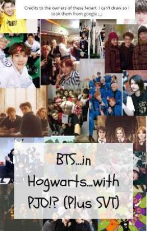 BTS...in Hogwarts..with HOO?! (Plus SVT) | Discontinued by CheeseCat178
