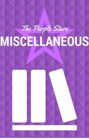 The Purple Stars: Miscellaneous by the_purple_stars