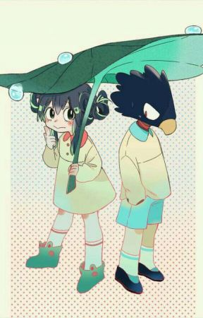 Don't leave me alone. (Tokoyami x Tsuyu) by AnxietyMaybe