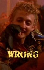 Wrong | Marko by skylarstyles56