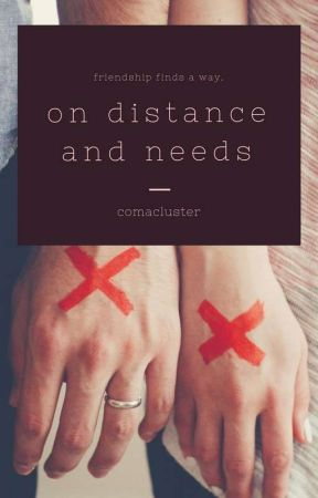 on distance and needs by comacluster