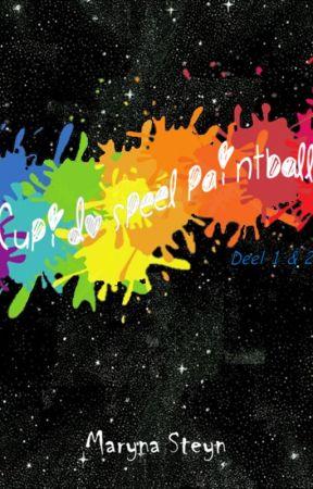Cupido speel paintball (Cupid plays paintball) by MarynaSteyn