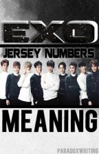 EXO Jersey Numbers - Meaning by paradoxwriting