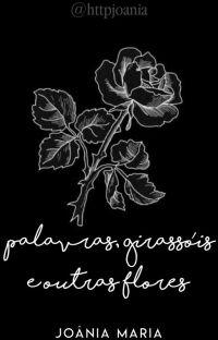 palavras, girassóis e outras flores. cover