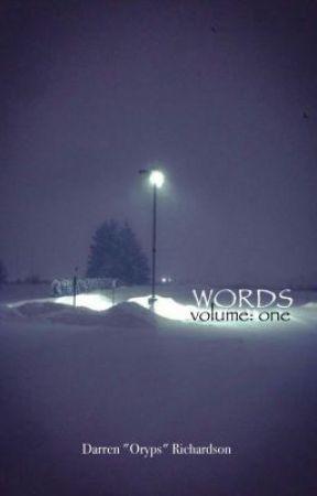 Words: Volume 1 by coda_cola