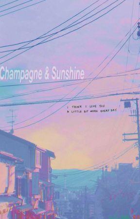 Champagne & Sunshine 🔆 Ongniel by ryorin138