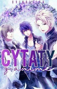 CYTATY Z ANIME cover