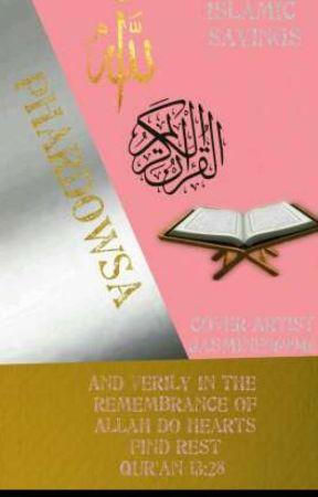 islamic sayings by phardowsa