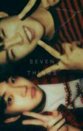 Seven Things ⋆ jinseob by Iegoshis