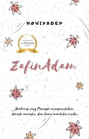 ZafinAdam (SUDAH TERBIT) by noviyadep