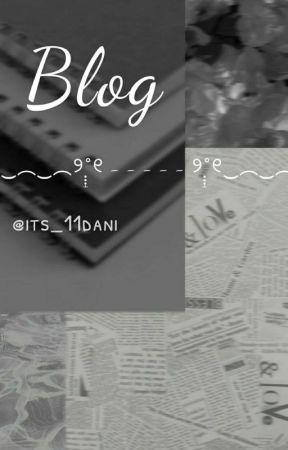 Blog by its_11dani