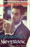 Brandon's Notebook (A TMMM Bonus Material) cover