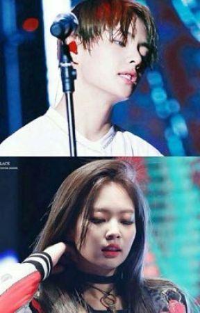 Jennie & Taehyung  Kim by Mejiwoo001